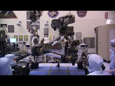Building Curiosity: Rover at Kennedy Space Center