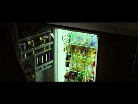 The greatest ever alcoholic relapse scene ever. Denzel Washington in 'Flight,' mini bar scene.