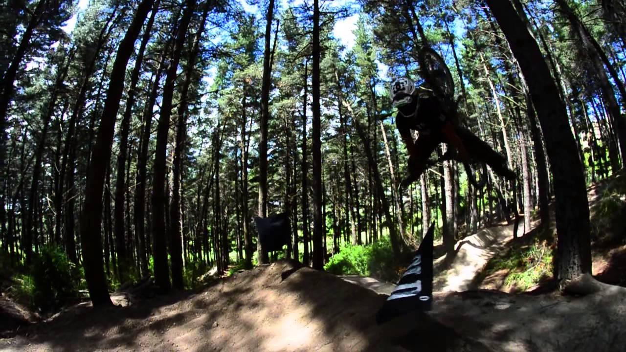 3f1079ef3dc DH Mountain Bike BACKFLIP fail - YouTube
