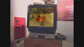 waking up at 7:00am on a saturday to play crash bandicoot on your ps1