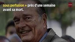 Jacques Chirac : les derniers jours rue de Tournon