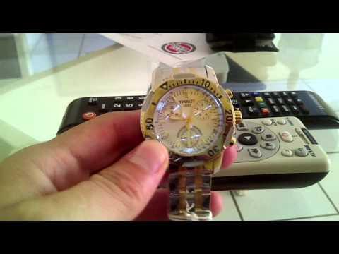7bdd6f76ba8 Relógio Tissot PRS200 - AliExpress Breplica - YouTube