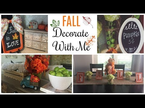FALL Decorate With Me | 2017