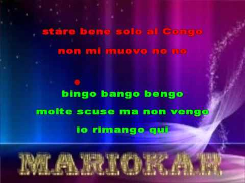Arbore Renzo   Bongo Bongo Bongo karaoke