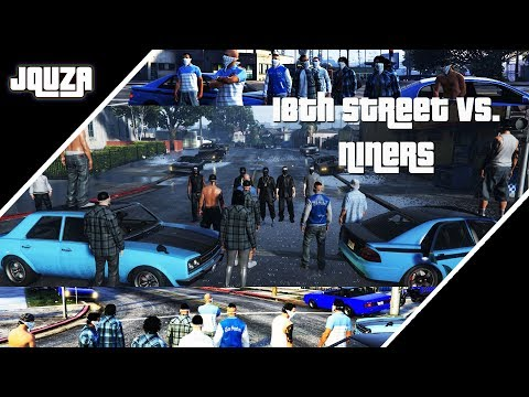 18th Street vs. Niners - Quza Tortuga - Dirty-Gaming - RP Highlights - German Roleplay