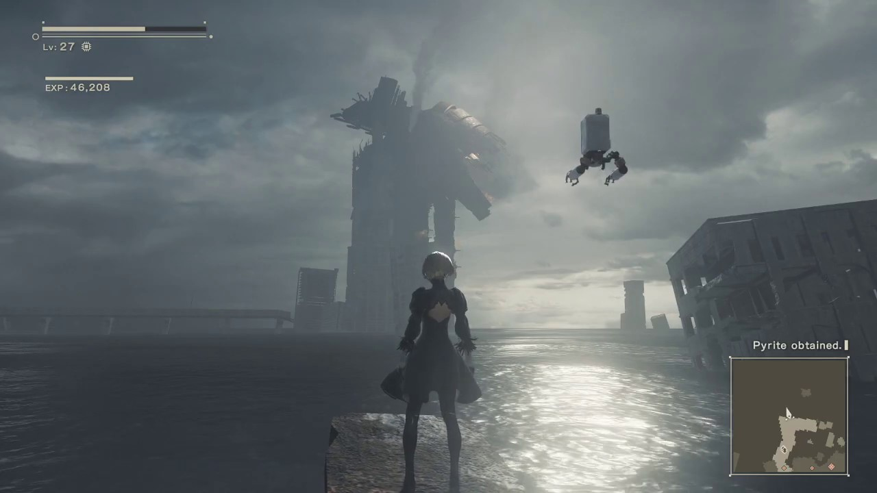 Nier Automata 13 Is This Death Youtube