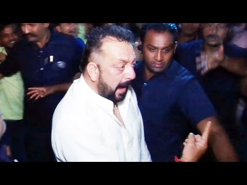 Download Drunk Sanjay Dutt CREATES A Scene At Amitabh Bachchan's Diwali Party 2016