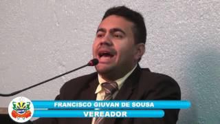 Giuvan de Sousa em pronunciamento 07 07 2017