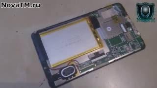 Замена тачскрина на планшете Tesla Neon