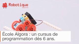 Apprendre à coder dès le plus jeune âge - cursus Algora 6/9 ans