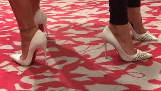 Walking by Christian Louboutin