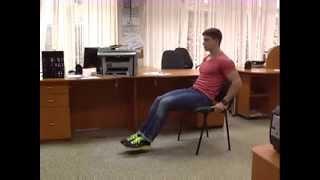 Фитнесс Тайм с Никитой Гуцу 2 серия  (Специальный комплекс упражнений для офиса)