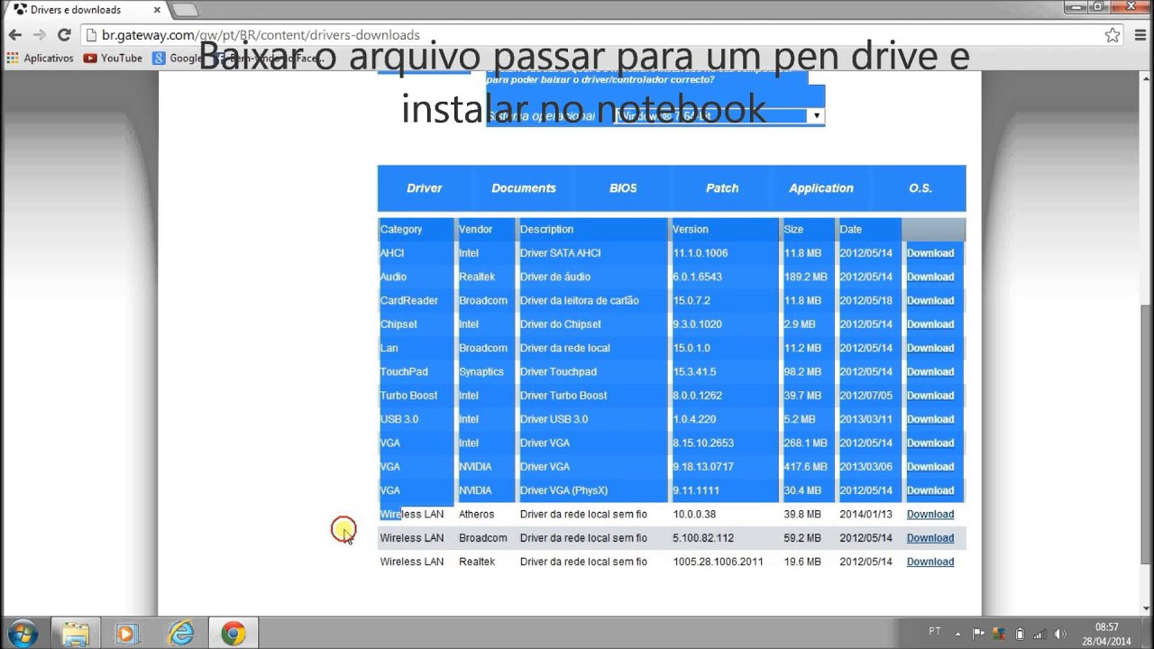 Notebook samsung desativar tecla fn - Instalando Drivers Fn Do Teclado Notebook Gateway Ne56r