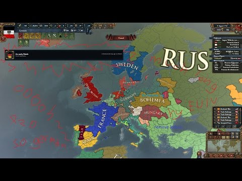 An Early Reich - Europa Universalis IV Timelapse