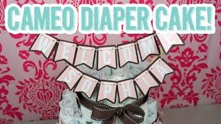 516: Diy Baby Shower Diaper Cake Using Silhouette Cameo