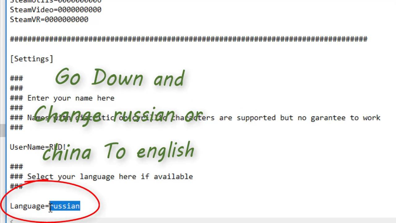 how to change russian to english windows.7