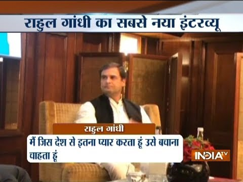 Congress President Rahul Gandhi interacts with Indian Journalists Association in London