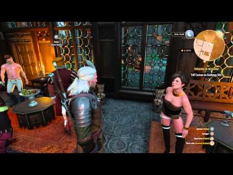 The Witcher 3 Das Bordell Erste Sex Szene Gameplay German HD