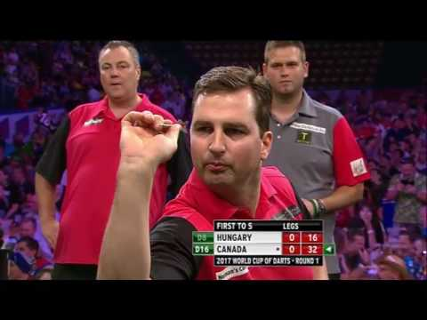 PDC World Cup of Darts 2017 - Dutch commentators having a laugh at Norman