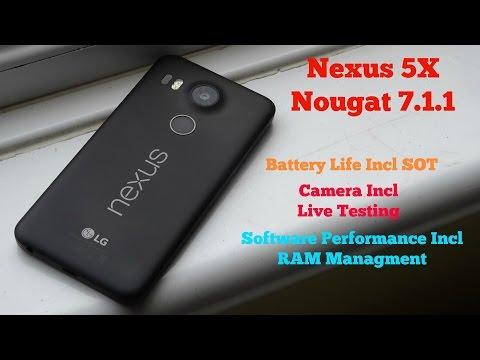 Nexus 5X - Nougat 7.1.1