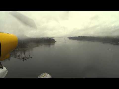 Rainy day in Petersburg Alaska  to Thom's Lake on Wrangell Island Part 1 of 4