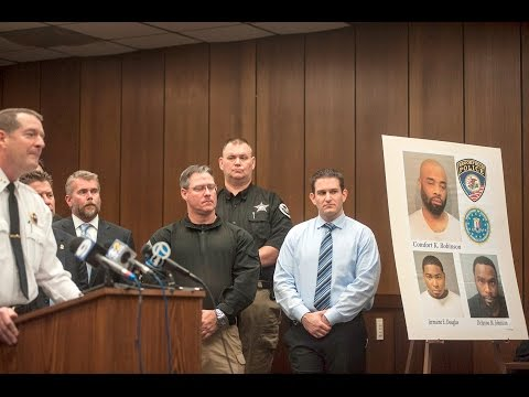 Brookfield police press conference on homicide arrests, Nov. 21, 2016