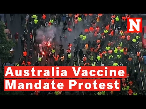 62 Arrested After Thousands March In Melbourne Against COVID Vaccine Mandates, Lockdowns