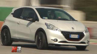 New peugeot 208 gti 30TH 2015 - first test on track only sound