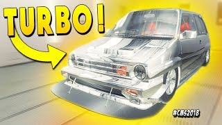 Twin Turbo in a Tiny Honda City Trying For Warp Speed - Car Mechanic Simulator 2018