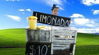VENDIENDO LIMONADA EN LA CALLE POR $10