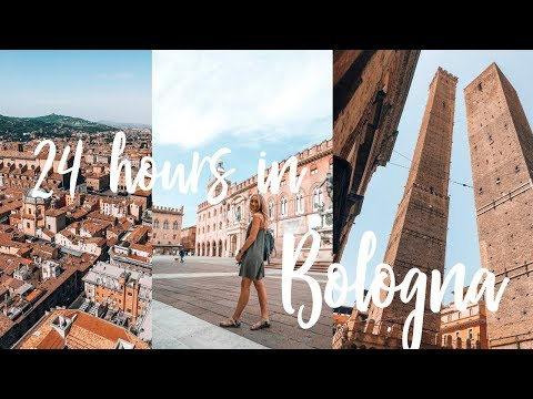 FACING MY FEARS! Climbing the tallest tower in Bologna {24 hours in Bologna!}