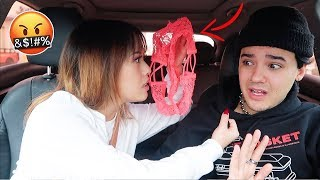 SHE FOUND ANOTHER GIRLS PANTIES IN MY CAR! *Prank*