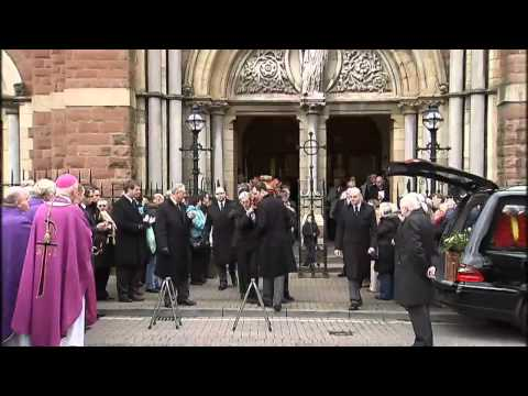 Frank Carson laid to rest