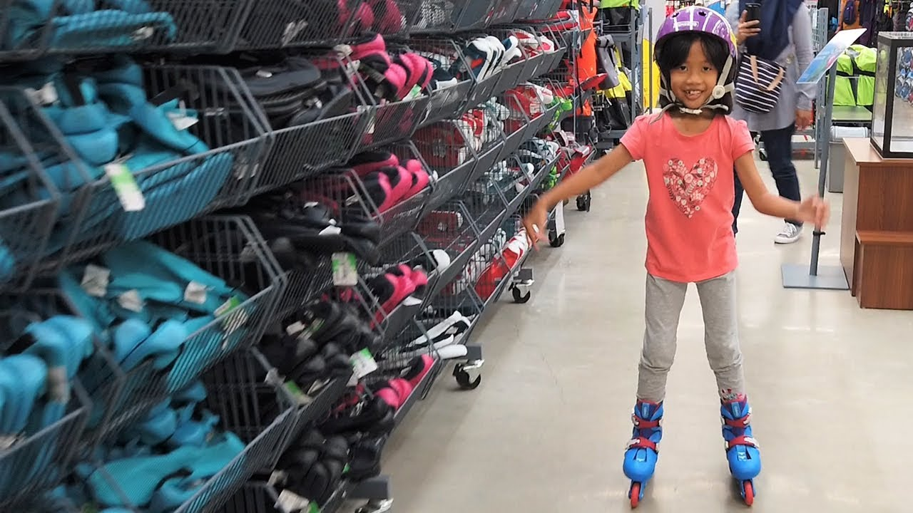 Kei Beli Sepatu Roda Baru Di Decathlon Langsung Main Kids