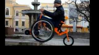 Коляска инвалидная (Горная), новинка, инвалид, средство передвижения(Лучшая внедорожная коляска для активных инвалидов., 2015-01-28T16:55:36.000Z)