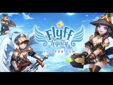 Flyff Legacy android game first look gameplay español