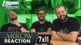 "Arrow Episode 7x11 ""Past Sins"" Reaction | Legends of Podcasting"