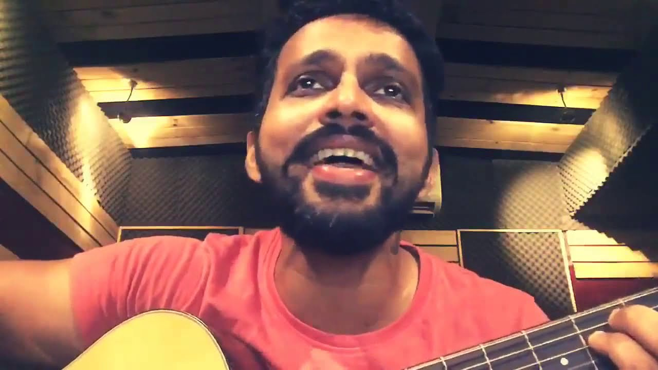 ranjith-govind-unplugged-song-practice-pepper-green