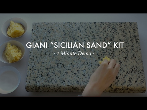 Sicilian Sand 1 Min Demo Giani Countertop Paint Youtube