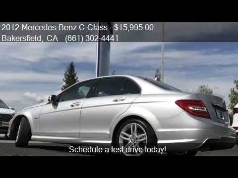 2012 Mercedes Benz C Class C250 For Sale In Bakersfield, CA