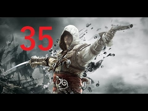 Assassin's Creed 4 Black Flag - 1080p - PART 35 - Cayman sound island & a betrayer