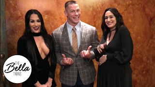 john cenas hilarious attempt to teach chinese to the bella twins