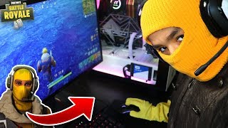 Little Brother Turns Into Real Life Fortnite Skin! Hilarious RAGE!