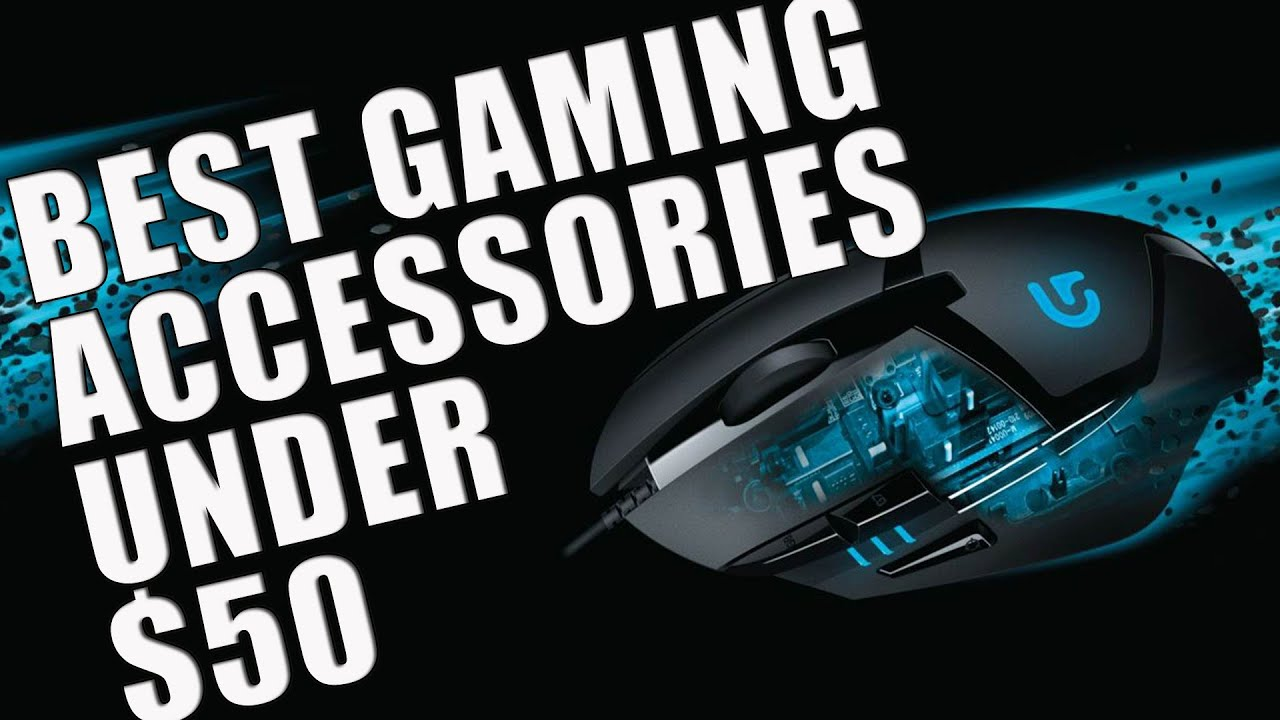 15 Best Video Game Accessories You Can Buy Under 50 Youtube