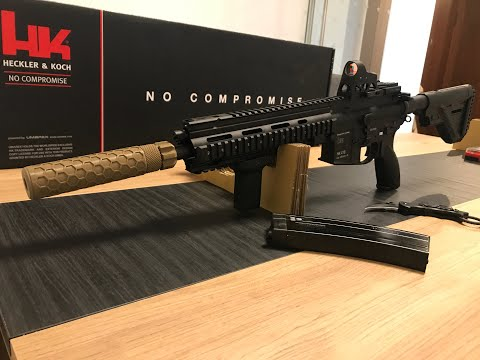 Unboxing Umarex/VFC HK416A5 GBB Rifle