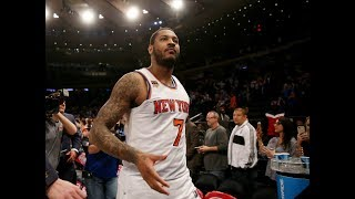Is a Carmelo Anthony Buyout a Viable Option For the New York Knicks?