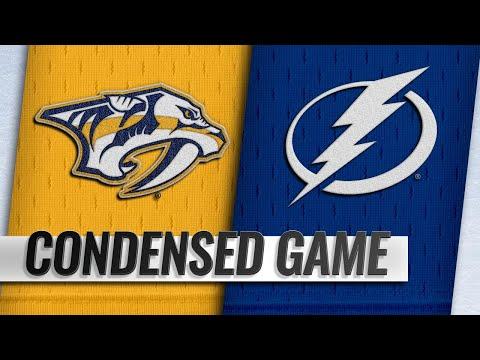 11/01/18 Condensed Game: Predators @ Lightning