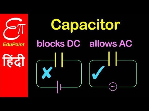 Capacitor Allows AC Not DC | Video In HINDI