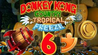 Let's Play Donkey Kong Country Tropical Freeze Part 6: Giga Mini Babybel