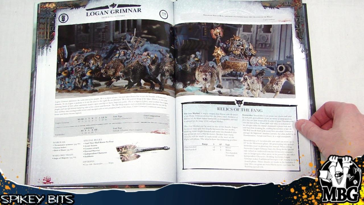 Wolf pdf space codex